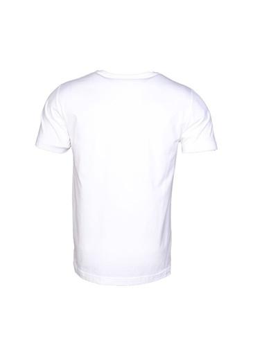 Hummel Erkek Tişört Casey 910599-9003 Beyaz